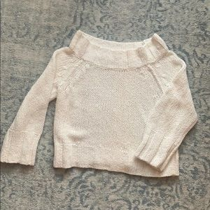 Free People Off the Shoulder sweater sz small